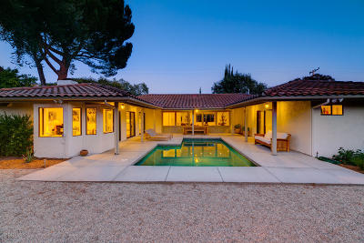 Ojai Single Family Home For Sale: 1203 Daly Road