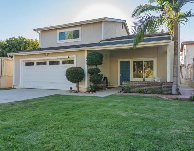 Newbury Park Single Family Home For Sale: 127 Maple Road
