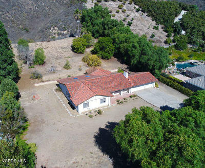 Ventura County Single Family Home For Sale: 11327 Barranca Road