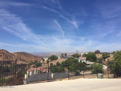 Simi Valley Residential Lots & Land For Sale: Crown Hill Road