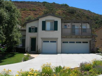 Ventura County Rental For Rent: 676 Rabbit Creek Lane