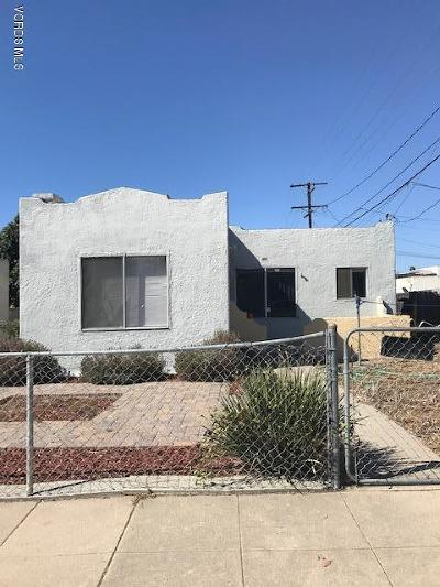 Ventura Single Family Home Active Under Contract: 297 S Catalina Street