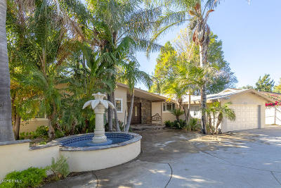 Simi Valley Single Family Home Active Under Contract: 3321 Tapo Canyon Road