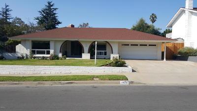 Camarillo Single Family Home For Sale: 1475 Calle La Cumbre