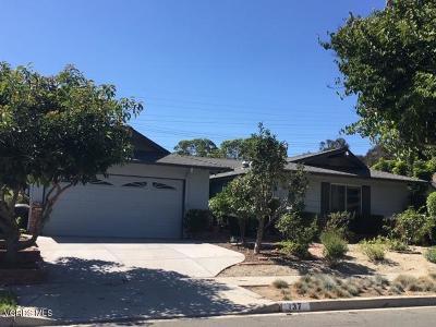 Ventura Single Family Home For Sale: 137 Taft Avenue