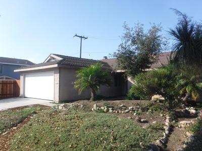 Ventura Single Family Home For Sale: 2165 Ramelli Avenue