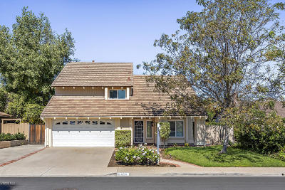 Camarillo Single Family Home For Sale: 6109 Arabian Place