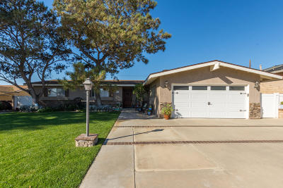 Camarillo Single Family Home Active Under Contract: 551 Beverly Drive