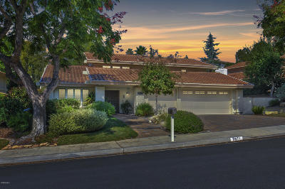 Thousand Oaks Single Family Home Active Under Contract: 3971 Calle Del Sol