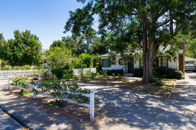 Ojai CA Single Family Home Active Under Contract: $599,000