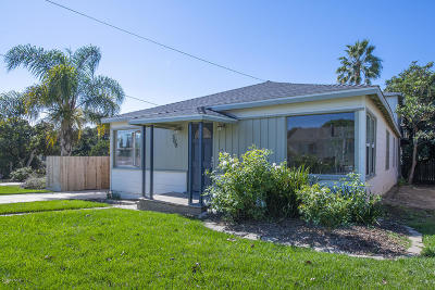Ventura Single Family Home Active Under Contract: 309 Walnut Drive