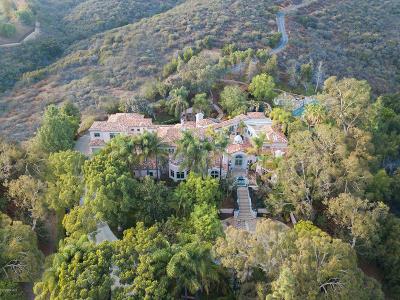 Westlake Village CA Single Family Home For Sale: $3,995,000