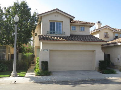 Camarillo Single Family Home For Sale: 4544 Via Aciando
