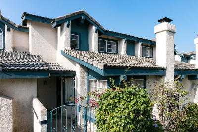 Port Hueneme Condo/Townhouse Active Under Contract: 2646 Hurricane Cove