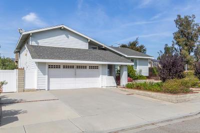 Camarillo Single Family Home For Sale: 3493 Canoga Place