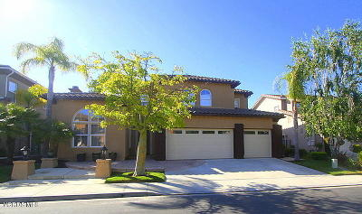 Simi Valley Single Family Home For Sale: 276 Chantilly Circle