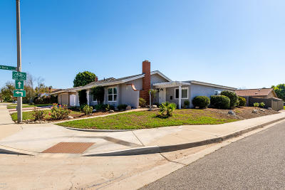 Camarillo Single Family Home For Sale: 3350 Stiles Avenue