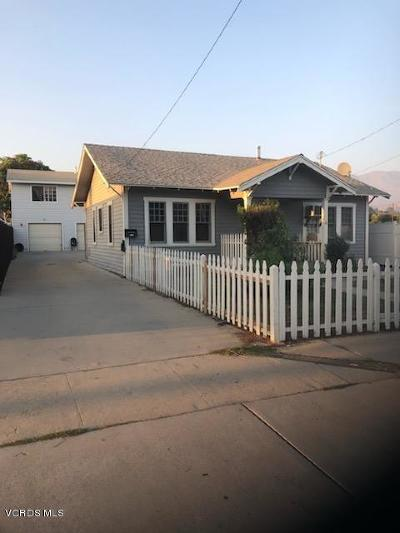 Santa Paula Multi Family Home Active Under Contract: 309 E Santa Barbara Street