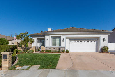 Camarillo Single Family Home Active Under Contract: 1393 Cordova Court