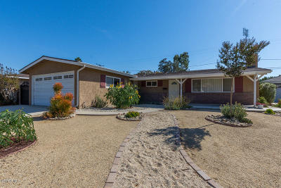 Santa Paula Single Family Home Active Under Contract: 1220 Bruce Drive