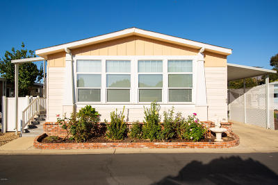 Ojai Mobile Home For Sale: 1225 S Rice Road #86