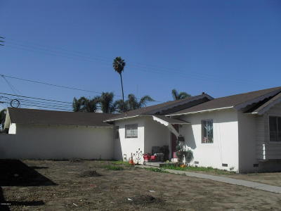 Oxnard Single Family Home For Sale: 4901 Saviers Road