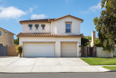 Camarillo Single Family Home For Sale: 4855 Corte Olivas