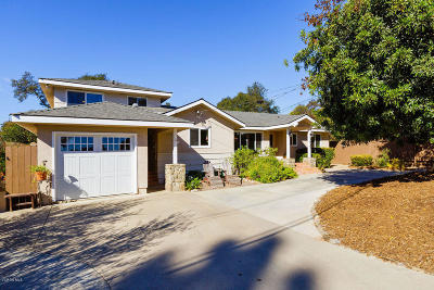 Ojai CA Single Family Home For Sale: $998,900