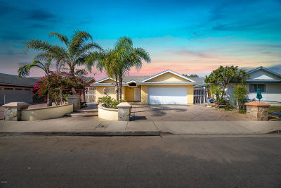 Oxnard Single Family Home For Sale: 251 Vegas Drive