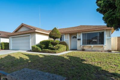 Oxnard Single Family Home For Sale: 4600 Frost Drive