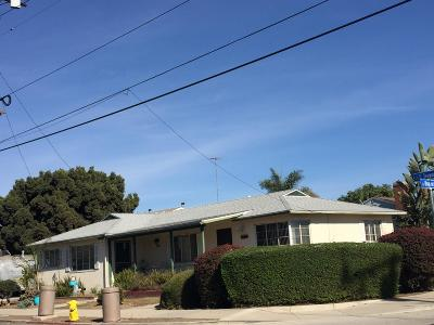 Ventura Multi Family Home For Sale: 640 S Seaward Avenue