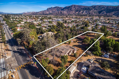 Santa Paula Single Family Home Active Under Contract: 246 W Main Street