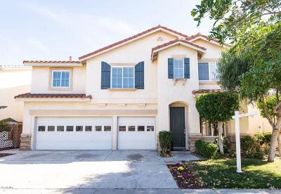 Oxnard Single Family Home For Sale: 5456 Barrymore Drive