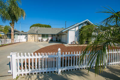 Ventura Single Family Home For Sale: 5397 Elmhurst Street
