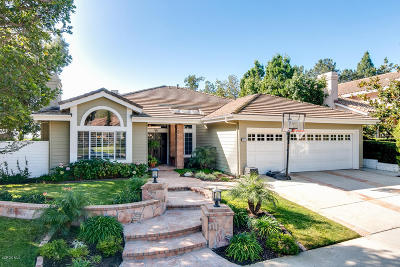Thousand Oaks Single Family Home Active Under Contract: 940 Bright Star Circle