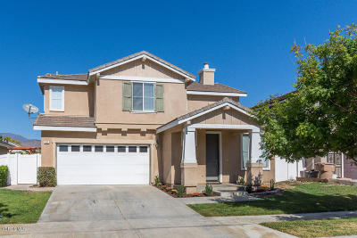 Fillmore Single Family Home Active Under Contract: 891 Union Pacific Street