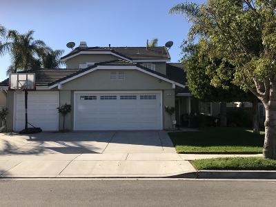 Oxnard Single Family Home For Sale: 2034 Lanyard Way
