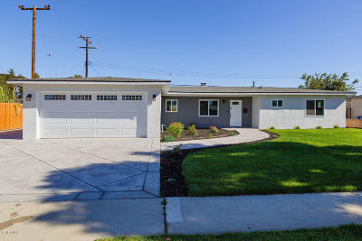Camarillo Single Family Home Active Under Contract: 478 Staunton Street