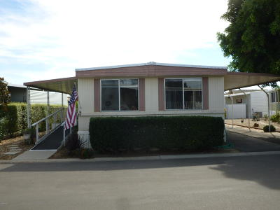 Ventura Mobile Home For Sale: 81 Begonia Place