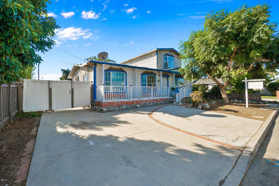 Ventura Single Family Home Active Under Contract: 6882 Norton Avenue