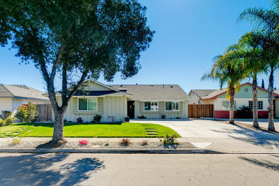 Ventura Single Family Home For Sale: 8542 Hollister Street