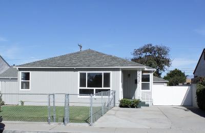 Oxnard Single Family Home For Sale: 317 E Date Street