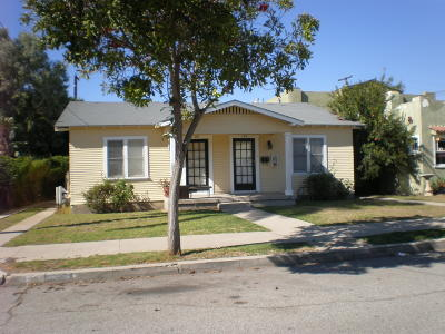 Multi Family Home For Sale: 177 S Santa Rosa Street