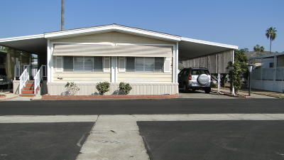 Ventura County Mobile Home Active Under Contract: 4388 Central Avenue #59