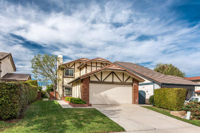 Simi Valley Single Family Home Active Under Contract: 849 Chelsea Court