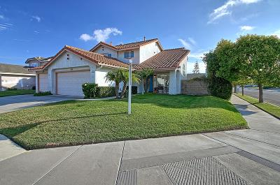 Oxnard Single Family Home Active Under Contract: 2122 Mistral Place