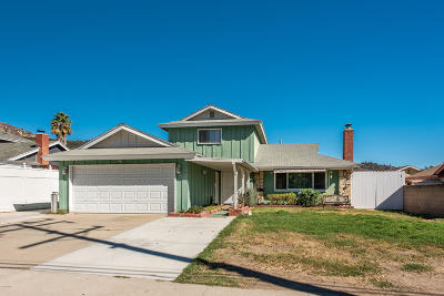 Fillmore Single Family Home For Sale: 444 Mountain View Street