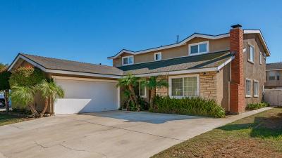 Oxnard Single Family Home For Sale: 2410 El Portal Way