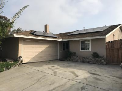 Port Hueneme Single Family Home For Sale: 2656 Bolker Way