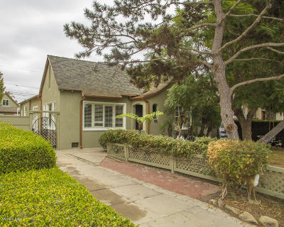 Oxnard Single Family Home For Sale: 540 S G Street